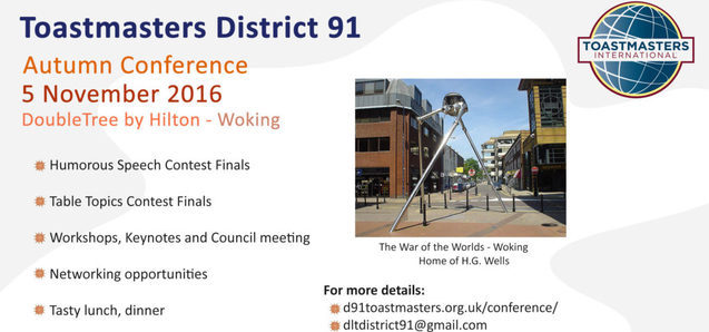 District 91 Autumn Conference Woking