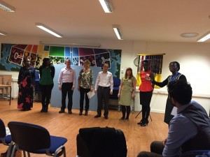 Four Speechcraft Graduates elected to the Speakers of Croydon leadership committee: Stephen Davis, SAA; Violet Karamagi, Treasurer; Trudy Kuhn, Secretary; Aiofe O'Keeffe, VP Membership