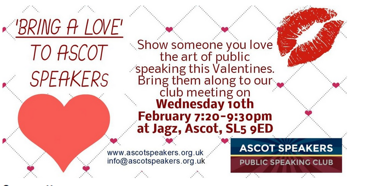 Ascot Speakers valentine
