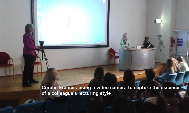 Coralie Frances HPL in action