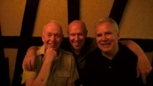 Andy and Pedro making friends with Keynote Speaker Tony Buzan in Washington DC