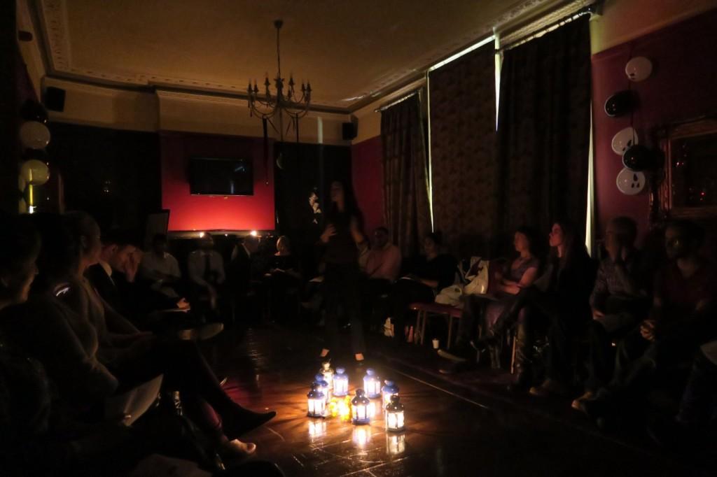 spooky speaking London Athenians