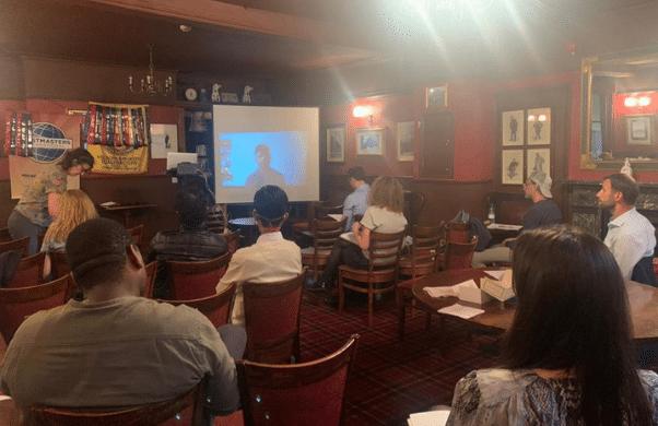Holborn Speakers Hybrid Meeting