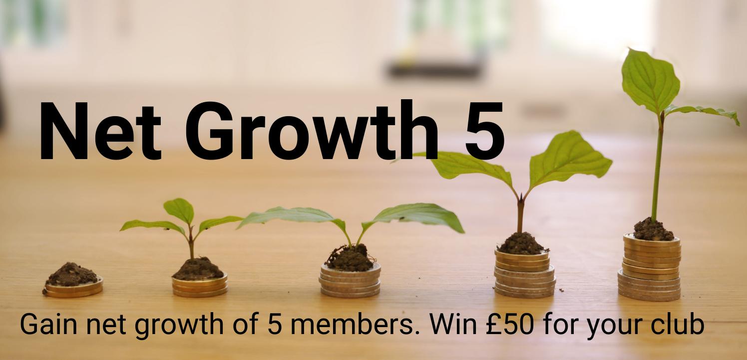 Net Growth 5 members award