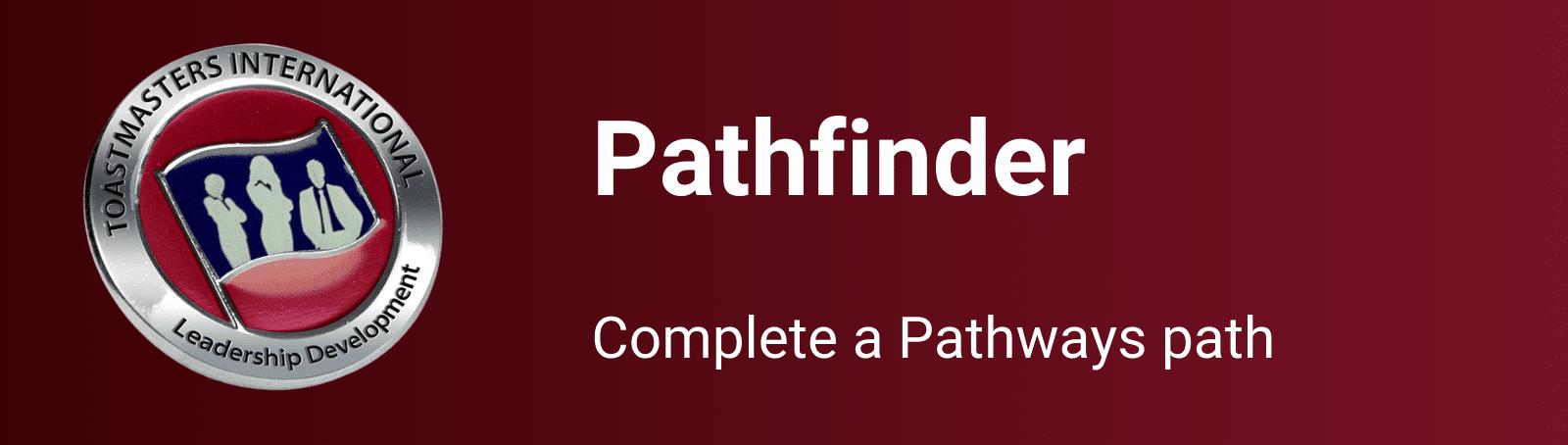 Pathfinder award