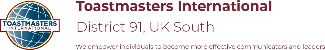 Toastmasters UK South – District 91 Members
